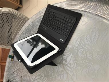 Grote foto ipad2 bluetooth toetsenbord in hoes computers en software tablets apple ipad