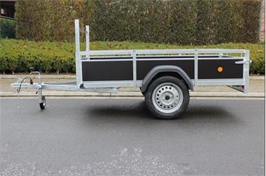 Grote foto nieuwe enkelas aanhangwagen weytens auto diversen aanhangers