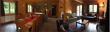 Grote foto luxe chalet eikenblad alle comfort durbuy vakantie belgi