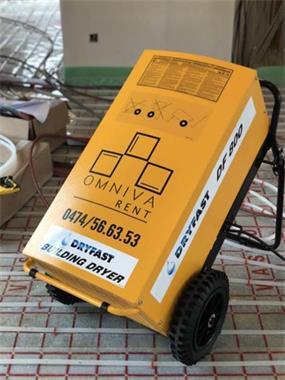 Grote foto promotie bouwdroger dryfast df800 ventilator diensten en vakmensen verhuur gereedschap en machines