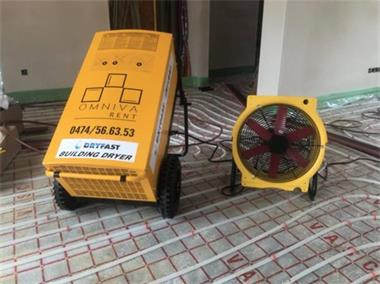 Grote foto te huur bouwdroger dryfast df800 ventilator diensten en vakmensen algemeen