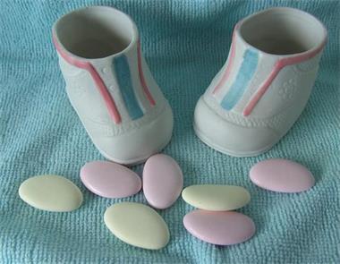 Grote foto partij baby schoentjes porseleinen 216 stuks nieuw kinderen en baby kraamcadeaus en geboorteborden