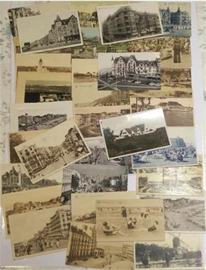 Grote foto postkaarten knokke postzegels en munten belgi