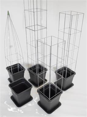 Bloembak Met Trellis Ikea.Bloembak Met Trellis Intrat Dit Plantenrek Pixelmasterdesign