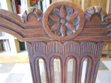 Grote foto houten stoel huis en inrichting stoelen