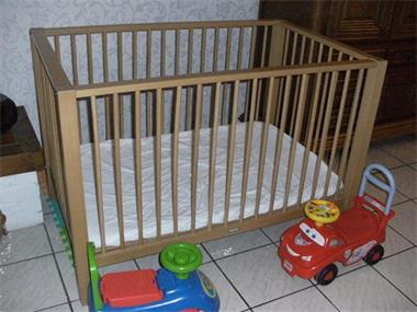 Grote foto kinderpark xl bvb voor een tweeling kinderen en baby boxen