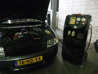 Grote foto airco servicebeurt reinigen vullen r1234yf incl. 3 lekteste diensten en vakmensen verhuur auto en motor