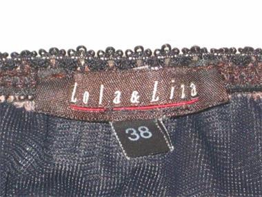Grote foto rok lola lila maat 38 kleding dames jurken en rokken