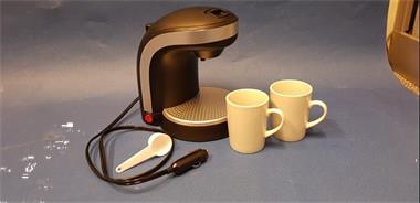 Grote foto koffiezetapparaat 12v inclusief 2 kopjes watersport en boten bootonderdelen