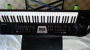Grote foto roland bk3 bl arranger keyboard hoofdtel toebeho muziek en instrumenten keyboards