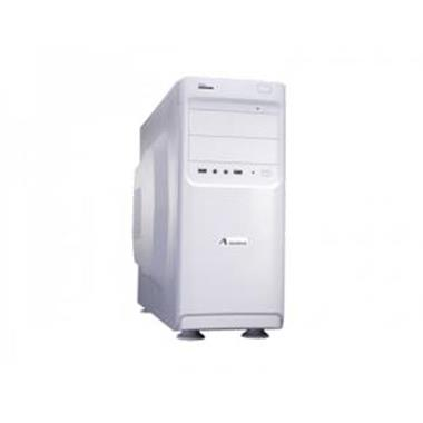 Grote foto adj 200 00009 white midi tower atx 580w 5.25x11 3.5x9 p computers en software behuizingen en kasten