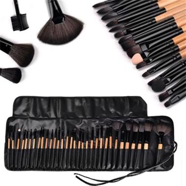 Grote foto borstelset make up borstels 32 delig kwastenset beauty en gezondheid make up sets