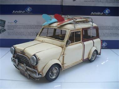Grote foto blikken auto mini cooper clubman woody surfing hobby en vrije tijd 1 5 tot 1 12