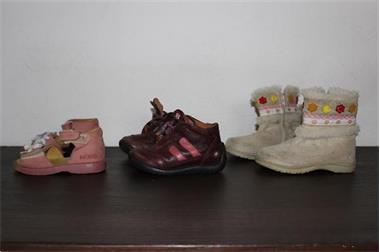 Grote foto schoenen maat 20 21 3 paar meisje kinderen en baby schoentjes en sokjes