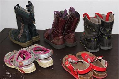 Grote foto schoenen maat 25 26 5 paar meisje kinderen en baby schoentjes en sokjes