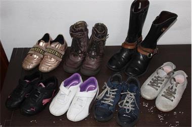 Grote foto schoenen maat 28 7 paar meisje kinderen en baby schoentjes en sokjes