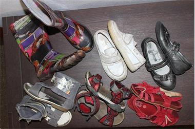 Grote foto schoenen maat 29 6 paar meisje kinderen en baby schoentjes en sokjes