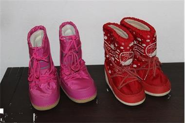 Grote foto schoenen boots maat 29 31 2 paar meisje kinderen en baby schoentjes en sokjes
