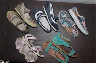 Grote foto schoenen maat 30 5 paar meisje lente zomer kinderen en baby schoentjes en sokjes