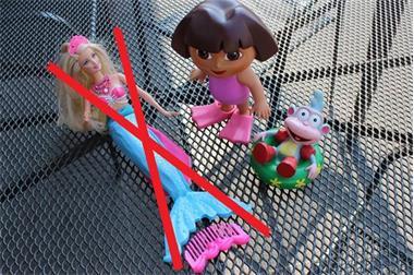 Grote foto badspeelgoed dora en boots 5 kinderen en baby overige