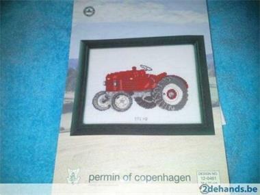 Grote foto borduurpatroon steyr tractor hobby en vrije tijd borduren