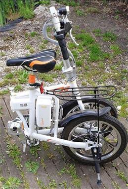 Grote foto electrische vouwbare stadsfietsen fietsen en brommers elektrische fietsen