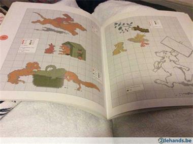 Grote foto borduurboek eendje godeon hobby en vrije tijd borduren