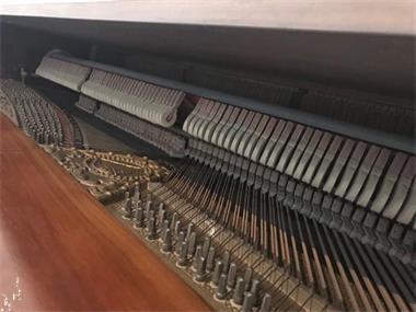 Grote foto licht bruine hoffmann piano muziek en instrumenten piano en vleugels