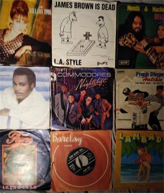Grote foto allerlei singles vinyl 45 rpm muziek en instrumenten platen elpees singles