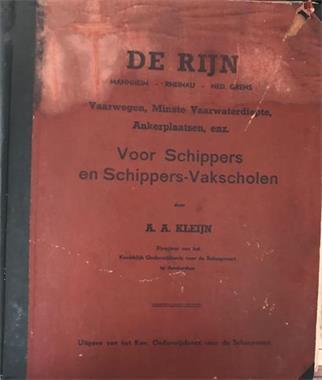 Grote foto de rijn a.a.kleijn boeken atlassen en landkaarten