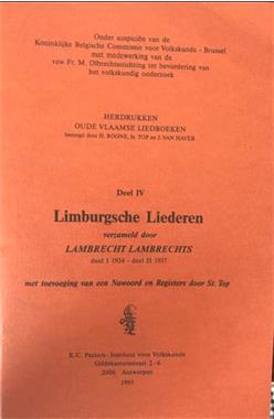 Grote foto limbugsche liederen lambrecht lambrechts boeken muziek
