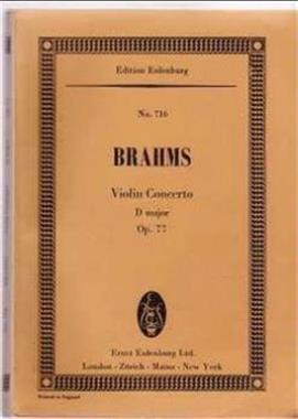 Grote foto brahms nr. 716 boeken muziek