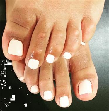 Grote foto manicure en pedicure diensten en vakmensen manicure