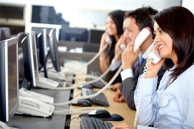 Grote foto callcenter tarieven diensten en vakmensen marketing en reclame