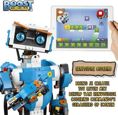 Grote foto lego boost 17101 creatieve gereedschapskist kinderen en baby duplo en lego