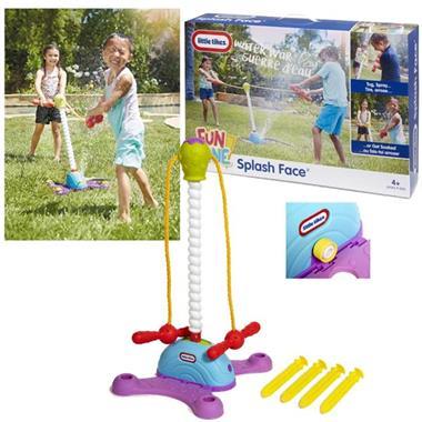 Grote foto little tikes waterspeelgoed splash face 645631 kinderen en baby los speelgoed