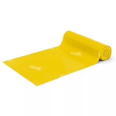 Grote foto sissel weerstandsband fitband 5 m x 14 5 cm geel sis 163.013 sport en fitness fitness