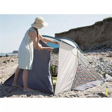 Grote foto outwell strandtent san antonio grijs 277x200x127 cm 110838 caravans en kamperen tenten
