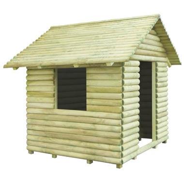 Grote foto vidaxl speelhuis 167x150x151 cm fsc ge mpregneerd grenenhout kinderen en baby los speelgoed