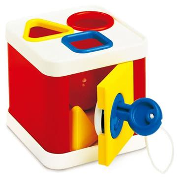 Grote foto ambi toys vormensorteerder lock a block 3931151 kinderen en baby overige babyartikelen