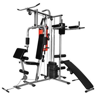 Grote foto vidaxl fitnessapparaat multifunctioneel met 1 bokszak sport en fitness fitness