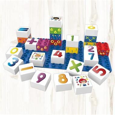 Grote foto biobuddi bouwblokken set cijfers 27 delig bb 0002 kinderen en baby duplo en lego