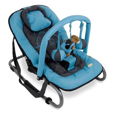 Grote foto baninni wipstoel relax classic blauw nijlpaard bnbo002 blhp kinderen en baby kinderstoelen
