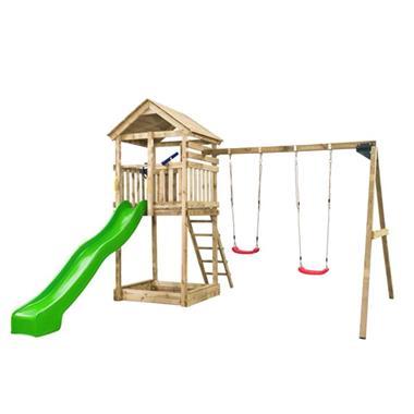 Grote foto swing king speeltoestel daan groene glijbaan 7888006.ag kinderen en baby los speelgoed