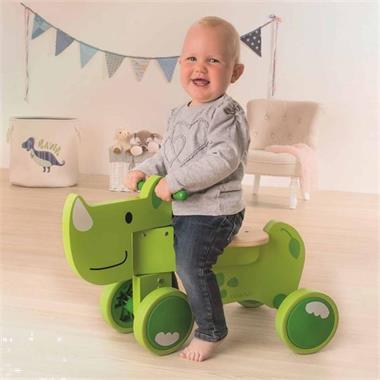 Grote foto beleduc loopfiets speedy rhino groen 18013 kinderen en baby los speelgoed