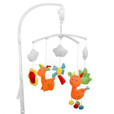 Grote foto baninni muziekmobiel giraf bnmm006 grf kinderen en baby overige babyartikelen