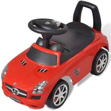 Grote foto vidaxl mercedes benz loopauto rood kinderen en baby los speelgoed