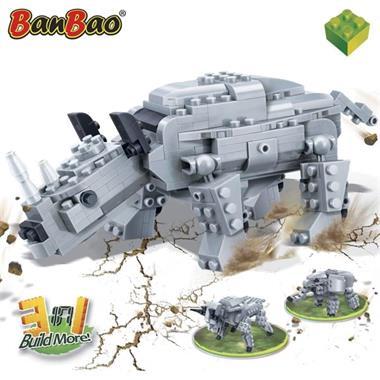 Grote foto banbao prehistorische neushoorn 6851 kinderen en baby duplo en lego