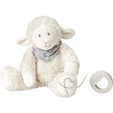 Grote foto k the kruse muziekspeeltje lamb mojo wit 0187414 kinderen en baby knuffels en pluche
