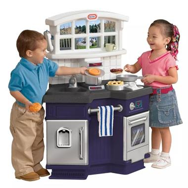 Grote foto little tikes keuken side by side kinderen en baby los speelgoed